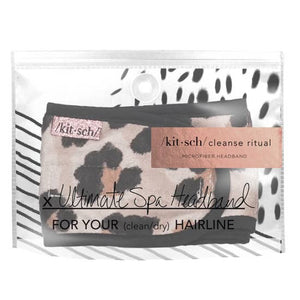 Leopard Ultimate Spa Headband