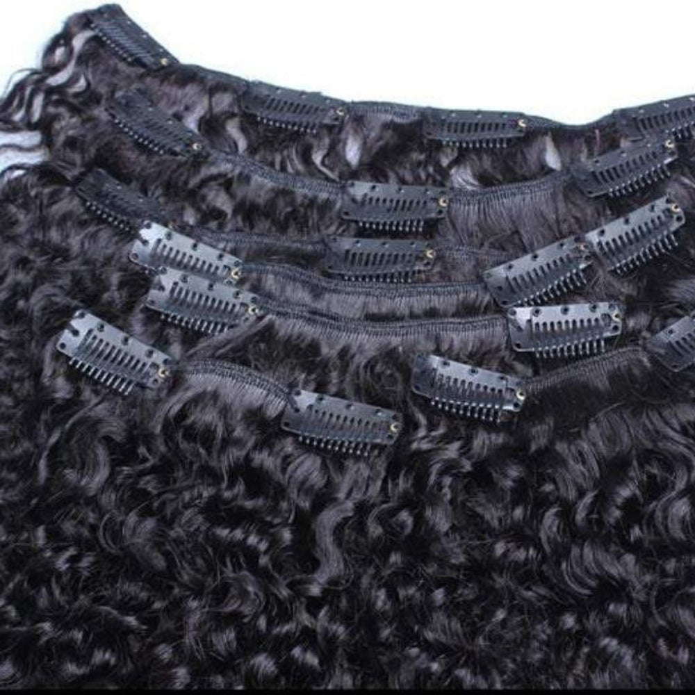 4mm Curly Series Clip In's