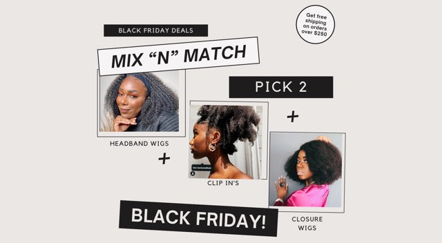 "MIX ""N"" MATCH BUNDLE DEAL"