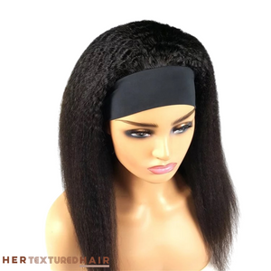 Relaxed Natural Blowout Headband Wig