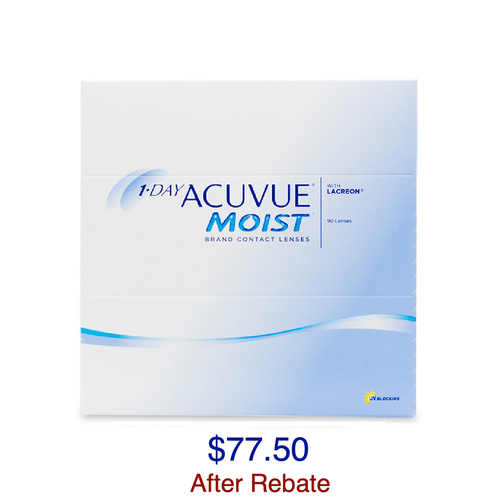 1-DAY ACUVUE® MOIST 90-Pack - Dr. Shalu Pal Optometrist