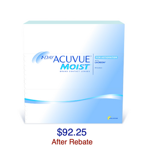 1-DAY ACUVUE® MOIST for ASTIGMATISM 90-Pack - Dr. Shalu Pal Optometrist