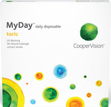 Load image into Gallery viewer, MyDay® Toric Daily Disposable 90-pack - Dr. Shalu Pal Optometrist
