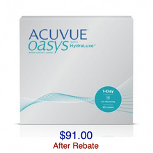 Load image into Gallery viewer, ACUVUE OASYS® 1-Day with HydraLuxe™ 90-pack - Dr. Shalu Pal Optometrist