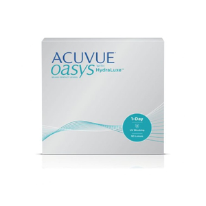 ACUVUE OASYS® 1-Day with HydraLuxe™ 90-pack - Dr. Shalu Pal Optometrist