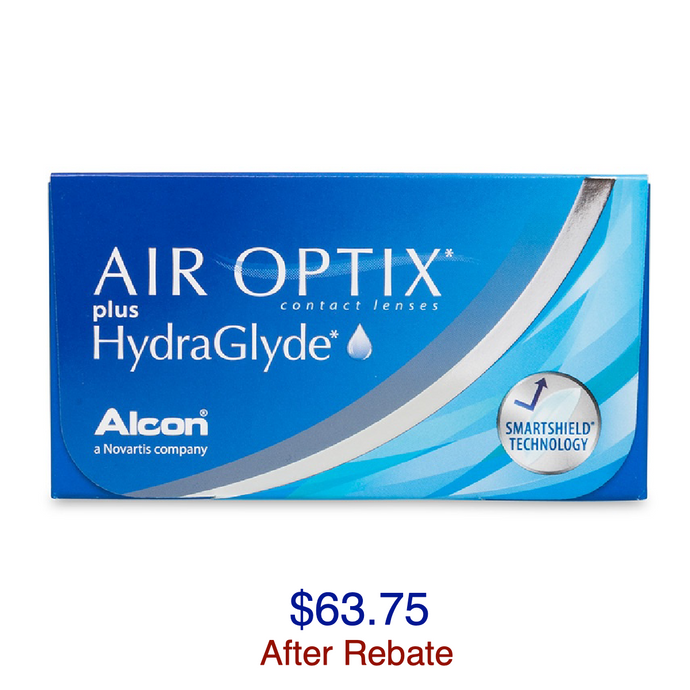 AIR OPTIX® Plus HydraGlyde 6-pack - Dr. Shalu Pal Optometrist