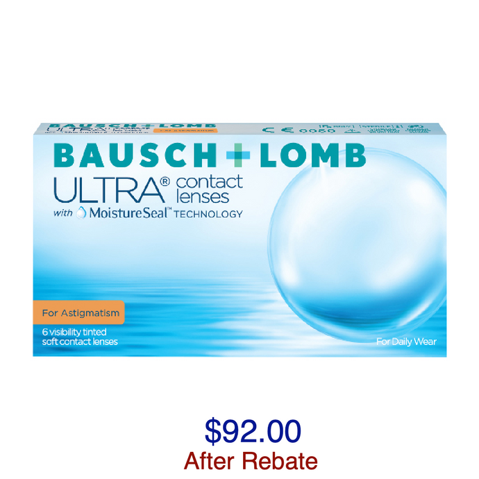 Bausch + Lomb ULTRA® for Astigmatism 6-pack - Dr. Shalu Pal Optometrist