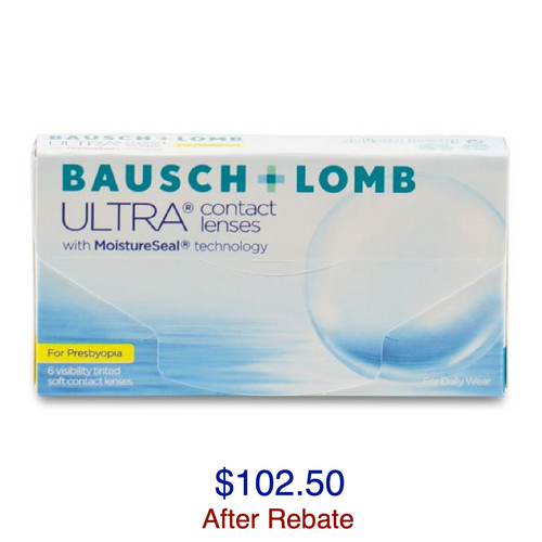Bausch + Lomb ULTRA® for Presbyopia 6-pack - Dr. Shalu Pal Optometrist