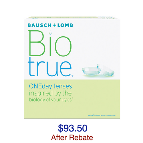 Biotrue® ONEday 90-pack - Dr. Shalu Pal Optometrist