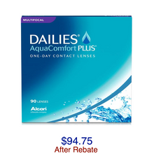 Load image into Gallery viewer, DAILIES® AquaComfort Plus® Multifocal 90-pack - Dr. Shalu Pal Optometrist