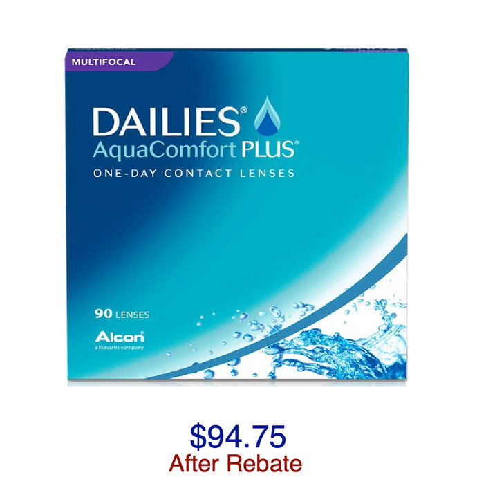 DAILIES® AquaComfort Plus® Multifocal 90-pack - Dr. Shalu Pal Optometrist