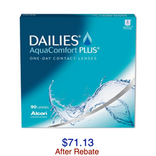 Load image into Gallery viewer, DAILIES® AquaComfort Plus® 90-pack - Dr. Shalu Pal Optometrist