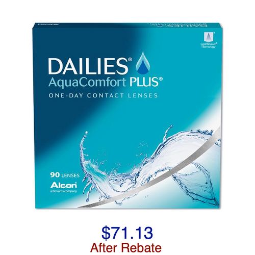 DAILIES® AquaComfort Plus® 90-pack - Dr. Shalu Pal Optometrist