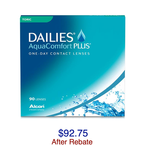 DAILIES® AquaComfort Plus® Toric 90-pack - Dr. Shalu Pal Optometrist