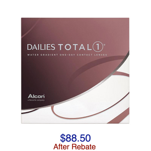 DAILIES TOTAL1® 90-pack