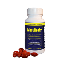 Load image into Gallery viewer, MacuHealth Eye Vitamins Soft Gels LMZ3 - Dr. Shalu Pal Optometrist