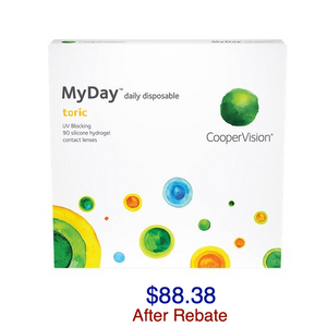MyDay® Toric Daily Disposable 90-pack - Dr. Shalu Pal Optometrist