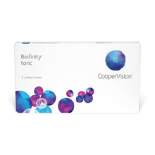 Load image into Gallery viewer, Biofinity® Toric 6-pack - Dr. Shalu Pal Optometrist