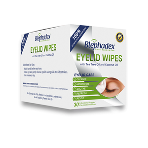 Blephadex Eyelid Wipes - Dr. Shalu Pal Optometrist