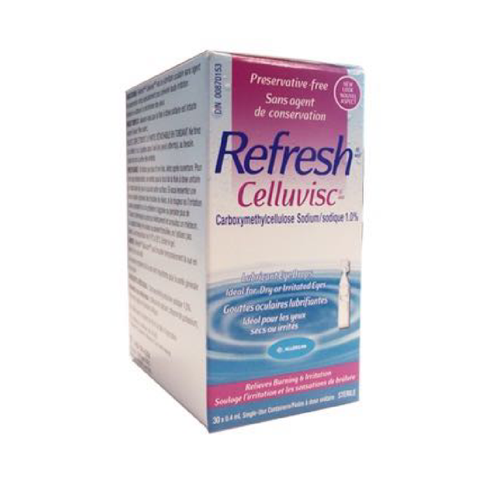 Refresh CELLUVISC® Lubricant Eye Drops 30ct. - Dr. Shalu Pal Optometrist