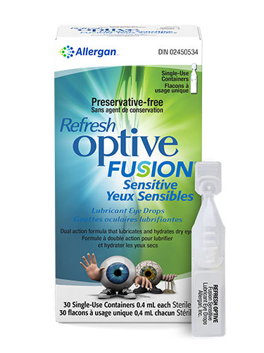 Refresh OPTIVE Fusion Sensitive - Dr. Shalu Pal Optometrist