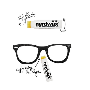 Nerdwax - Stops Glasses from Slipping! - Dr. Shalu Pal Optometrist