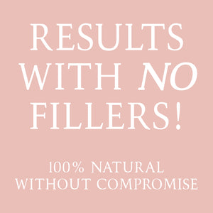 Our Promise To You; No Chemical Fillers, EVER.