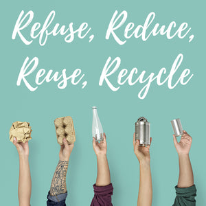 Reduce, Reuse, Recycle, Rethink with our founder Jenette