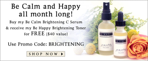 be calm and happy all month long jenette all natural skin care