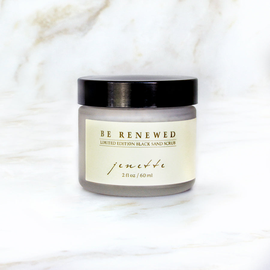 Be Renewed - Limited Edition Volcanic Scrub