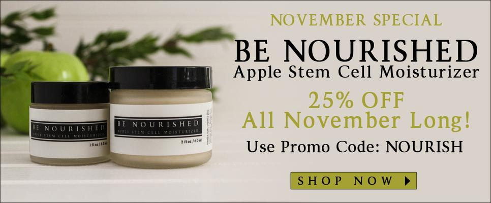 Introducing My Be Nourished - Apple Stem Cell Moisturizer