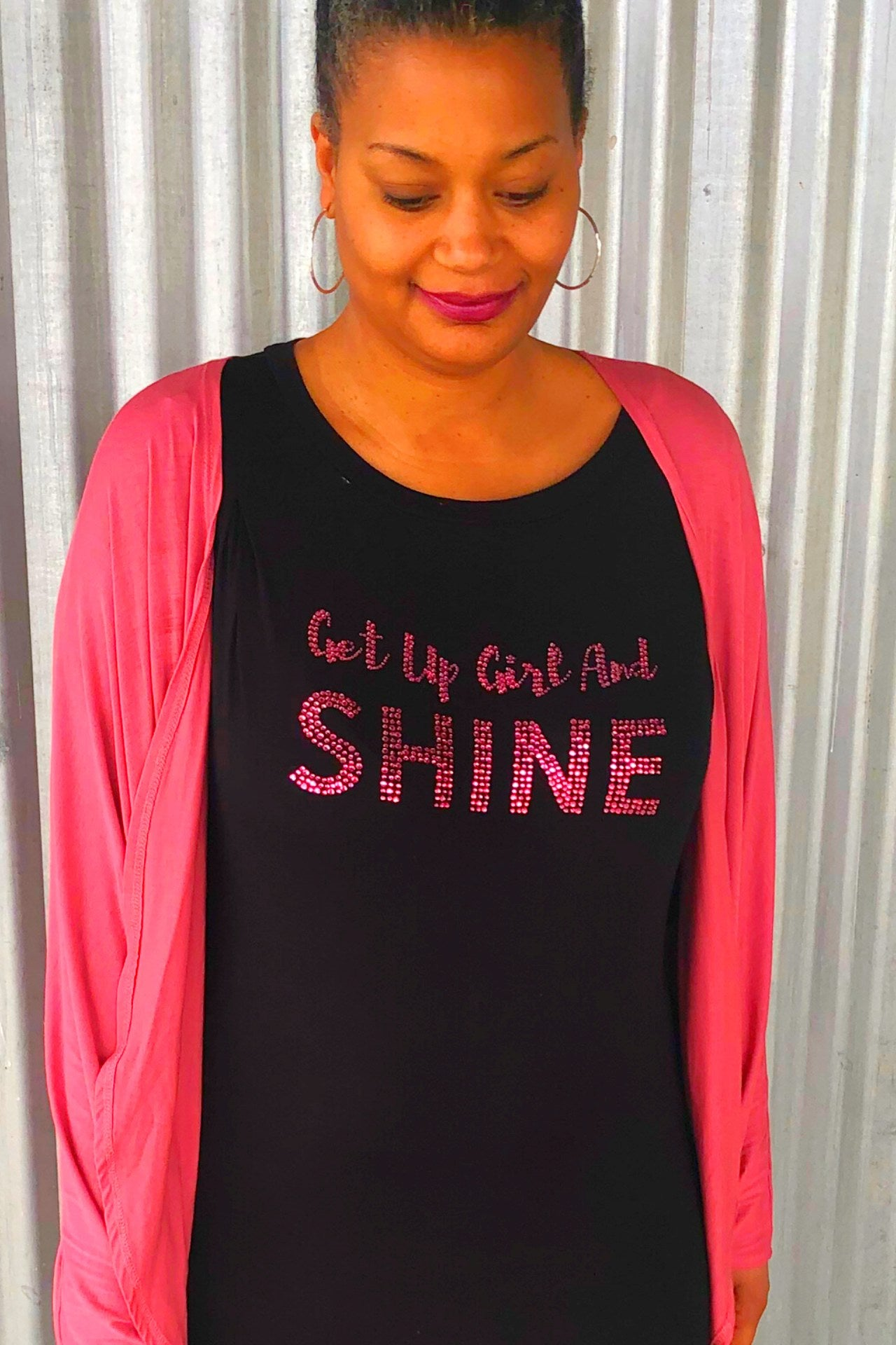 "The ""Get Up Girl and Shine"" Tee"