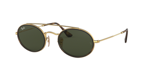 Ray Ban RB3847N Oval Double Bridge