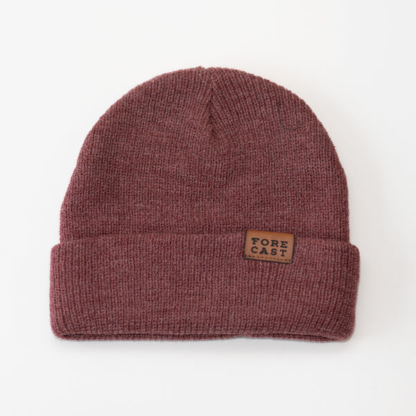 Classic Beanie - Heather Red