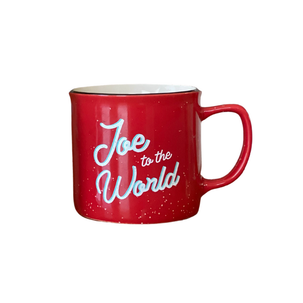 Joe to the World Holiday Mug
