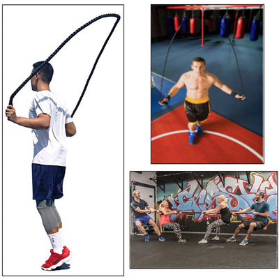 MuscleRope ™ Heavy Jump Rope Tp Improve Strength And Building Muscle