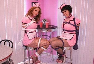 Sexy Waitresses Taking Kinky Orders