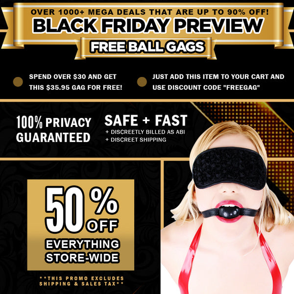 FREE Gag on Orders Over $30!