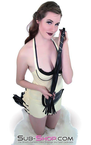 "1108DL      Whips & Chains 25"" Leatherette Whip - Sub-Shop.comWhip - 4"