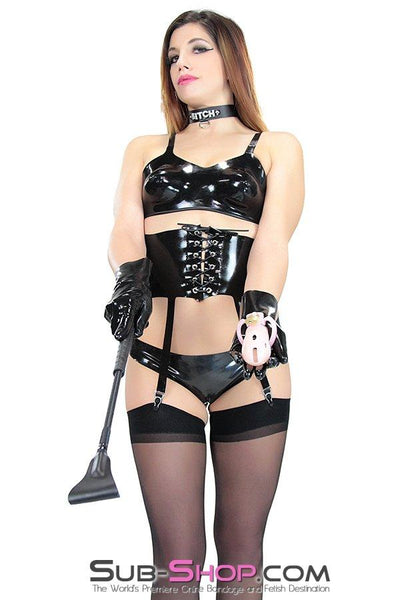 2923D  Latex Bra - Sale BDSM, Bondage Gear, Adult Toys, Bondage Sex, Orgasm Belt, Male Chastity, Gags. Bondage Slave Collars, Wrist Cuffs, Submissive, Dominant, Master, Mistress, Crossdresser, Sub-Shop Bondage and Fetish Superstore