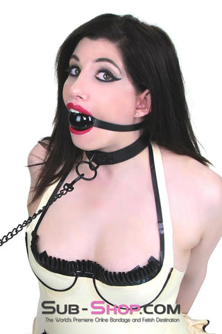 1547DL      Blackline Bondage Slave Collar and Leash Set - Sale BDSM, Bondage Gear, Adult Toys, Bondage Sex, Orgasm Belt, Male Chastity, Gags. Bondage Slave Collars, Wrist Cuffs, Submissive, Dominant, Master, Mistress, Crossdresser, Sub-Shop Bondage and Fetish Superstore