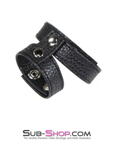 1580M      Adjustable Cock and Ball Snap Ring Strap - Sale BDSM, Bondage Gear, Adult Toys, Bondage Sex, Orgasm Belt, Male Chastity, Gags. Bondage Slave Collars, Wrist Cuffs, Submissive, Dominant, Master, Mistress, Crossdresser, Sub-Shop Bondage and Fetish Superstore