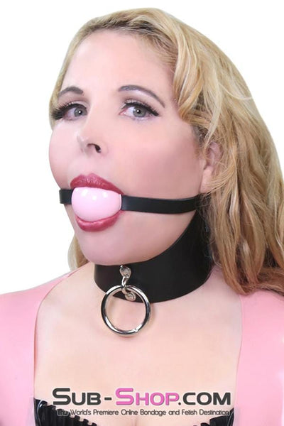 Classic Ball Gag Strap, Princess Pink Ball - Sale BDSM, Bondage Gear, Adult Toys, Bondage Sex, Orgasm Belt, Male Chastity, Bondage Gag. Bondage Slave Collars, Wrist Cuffs, Submissive, Dominant, Master, Mistress, Cross Dressing, Sex Toys, Bondage Sale, Bondage Clearance, MEGA Deal Bondage, Sub-Shop Bondage and Fetish Superstore