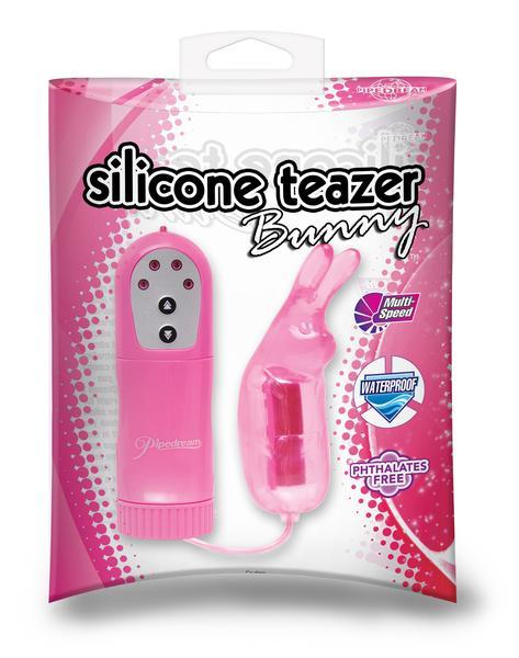 1671P      Pink Silicone Teaser Bunny - <b>MEGA Deal</b> - Sale BDSM, Bondage Gear, Adult Toys, Bondage Sex, Orgasm Belt, Male Chastity, Gags. Bondage Slave Collars, Wrist Cuffs, Submissive, Dominant, Master, Mistress, Crossdresser, Sub-Shop Bondage and Fetish Superstore