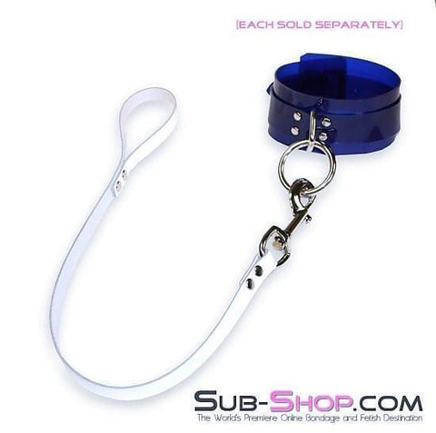 1759A   Submission Short Leather Lead, White - Sub-Shop.comLeash - 3
