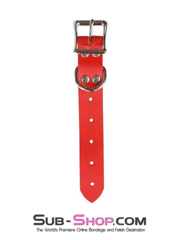"8"" Bondage Gear Extender Strap, Red Leather - Sale BDSM, Bondage Gear, Adult Toys, Bondage Sex, Orgasm Belt, Male Chastity, Bondage Gag. Bondage Slave Collars, Wrist Cuffs, Submissive, Dominant, Master, Mistress, Cross Dressing, Sex Toys, Bondage Sale, Bondage Clearance, MEGA Deal Bondage, Sub-Shop Bondage and Fetish Superstore"