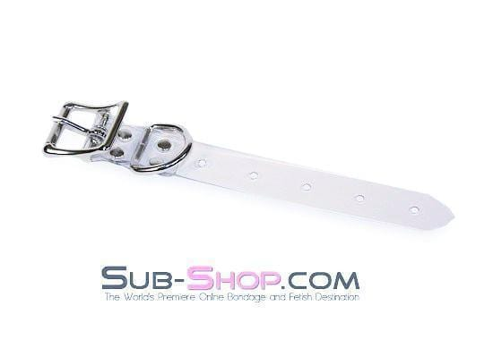 "8"" Bondage Gear Extender Strap, Clear Luxe PVC - Sale BDSM, Bondage Gear, Adult Toys, Bondage Sex, Orgasm Belt, Male Chastity, Bondage Gag. Bondage Slave Collars, Wrist Cuffs, Submissive, Dominant, Master, Mistress, Cross Dressing, Sex Toys, Bondage Sale, Bondage Clearance, MEGA Deal Bondage, Sub-Shop Bondage and Fetish Superstore"