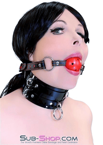 9003DL     I Love This Gag Breather Style Hearts Strap Ball Gag - <b>MEGA Deal</b>