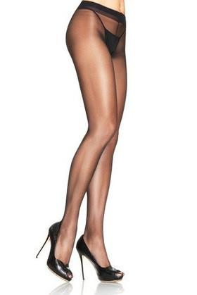 2239L    Beautiful Legs Sheer Black Support Pantyhose - Sub-Shop.comPantyhose