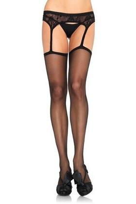 2248L    Black Lace Garter Belt and Sexy Stockings Set - Sub-Shop.comStockings
